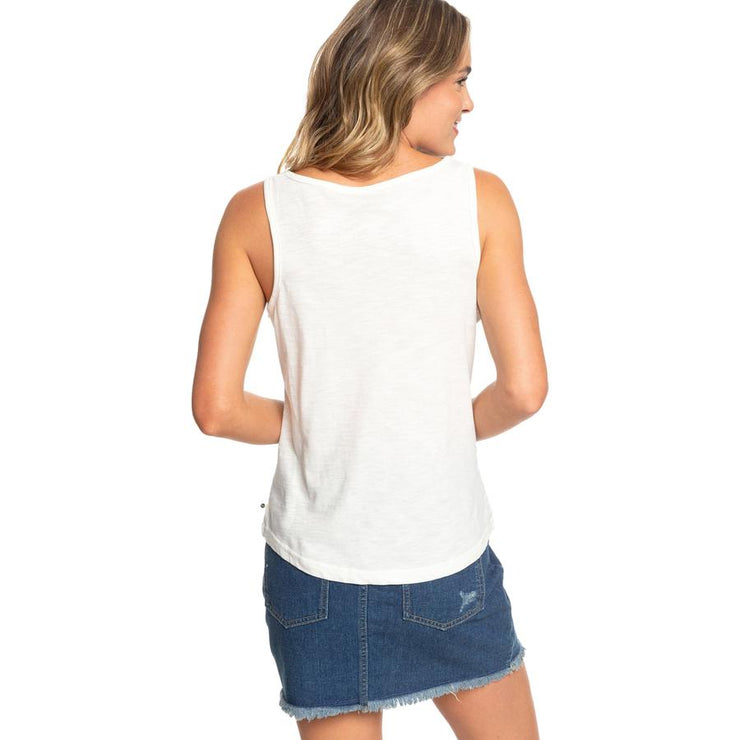 Surf Shop, Surf Clothing, Roxy, Red Sunset B Vest, Tshirt, Marshmallow