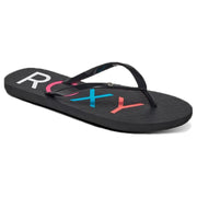 Surf Shop, Surf Clothing, Roxy, Sandy Flip Flops, Flipflop, Black