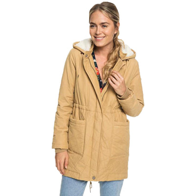Surf Shop, Surf Clothing, Roxy, Slalom Chic Jacket, Jackets, Curry