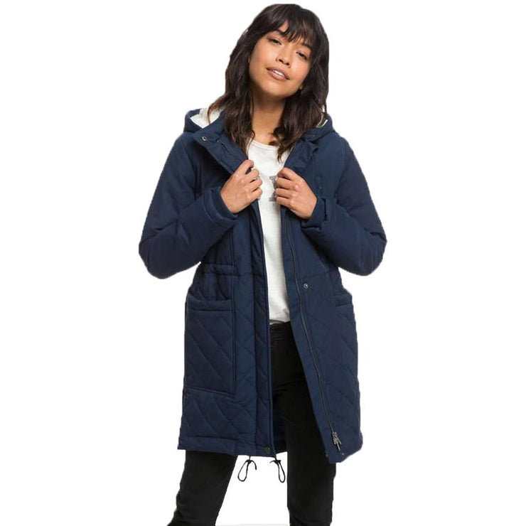 Surf Shop, Surf Clothing, Roxy, Slalom Chic Jacket, Jackets, Dress Blue