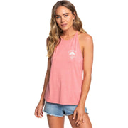 Surf Shop, Surf Clothing, Roxy, Sunset Valley Lace Strappy Top, Tshirt, Brandied Apricot