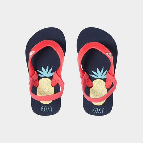 Surf Shop, Surf Clothing, Roxy, Tahiti VI, Flip Flops, Navy