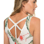 Surf Shop, Surf Clothing, Roxy, Vast Sky Strappy Top, Tshirt, Marshmallow/Tropical Love
