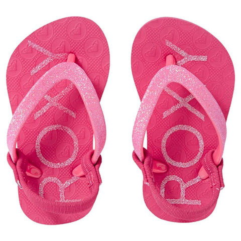 Surf Shop, Surf Clothing, Roxy, Viva Glitter II, Flip Flops, Rouge Red