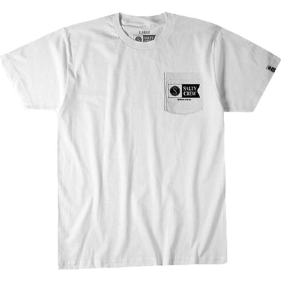 Surf Shop, Surf Clothing, Salty Crew, Alpha Refuge Pocket S/S Tee, Tshirt, White