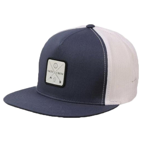 Surf Shop, Surf Clothing, Salty Crew, Chart Trucker, Cap, Navy