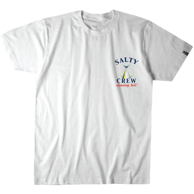 Surf Shop, Surf Clothing, Salty Crew, Chasing Tail Tee, Tshirt, White
