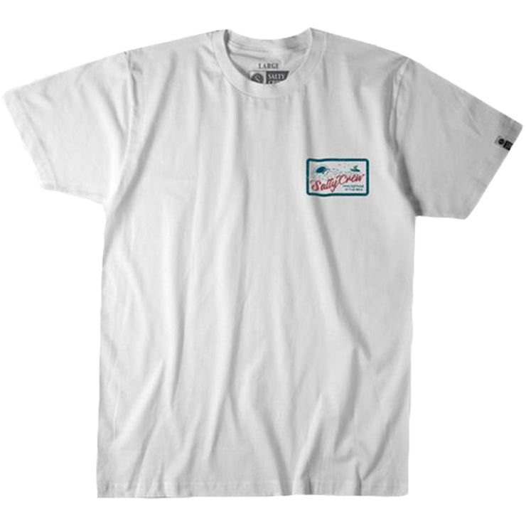 Surf Shop, Surf Clothing, Salty Crew, Foamer, Tshirt, White