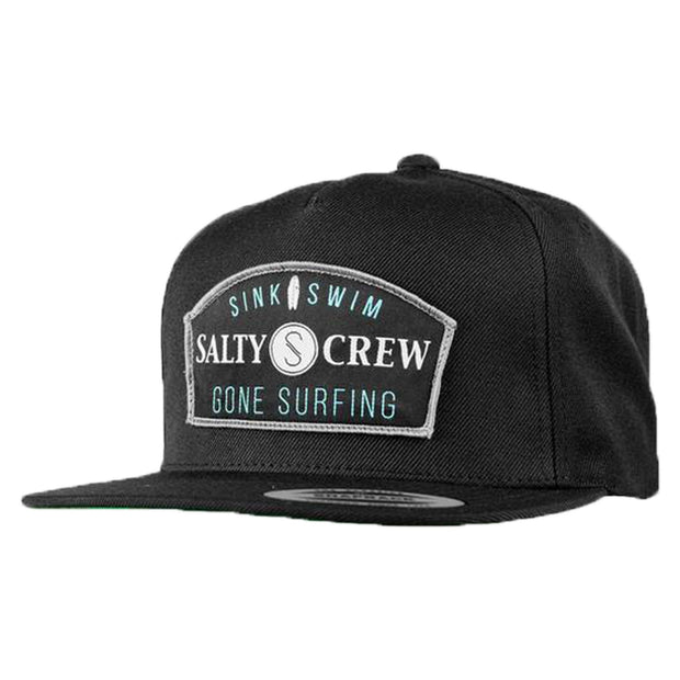 Surf Shop, Surf Clothing, Salty Crew, Gone Surfing, Cap, Black