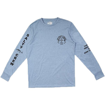 Surf Shop, Surf Clothing, Salty Crew, Jib Tech LS Tee, Tshirt, Light Blue
