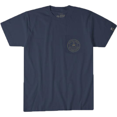 Surf Shop, Surf Clothing, Salty Crew, Outrigger Tee, Tshirt, Navy
