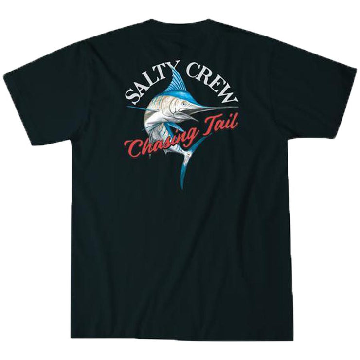 Surf Shop, Surf Clothing, Salty Crew, Striped Marlin Tee, Tshirt, Navy