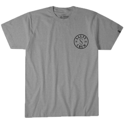 Surf Shop, Surf Clothing, Salty Crew, Topwater Tee, Tshirt, Graphite Heather