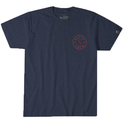 Surf Shop, Surf Clothing, Salty Crew, Topwater Tee, Tshirt, Navy Heather