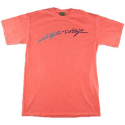 Surf Shop, Surf Clothing, Sex Wax, Neon Script Tee, Tshirt, Orange