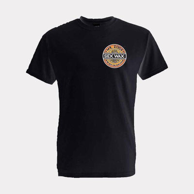 Surf Shop, Surf Clothing, Sex Wax, The Fade Tee, Tshirt, Black