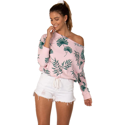 Surf Shop, Surf Clothing, Sisstr Evolution, Palms Away Pullover, Sweatshirt, Pink Skies