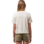 Surf Shop, Surf Clothing, Sisstr Evolution, Prismatic Sisstr Crop Top, Tshirt, Sand