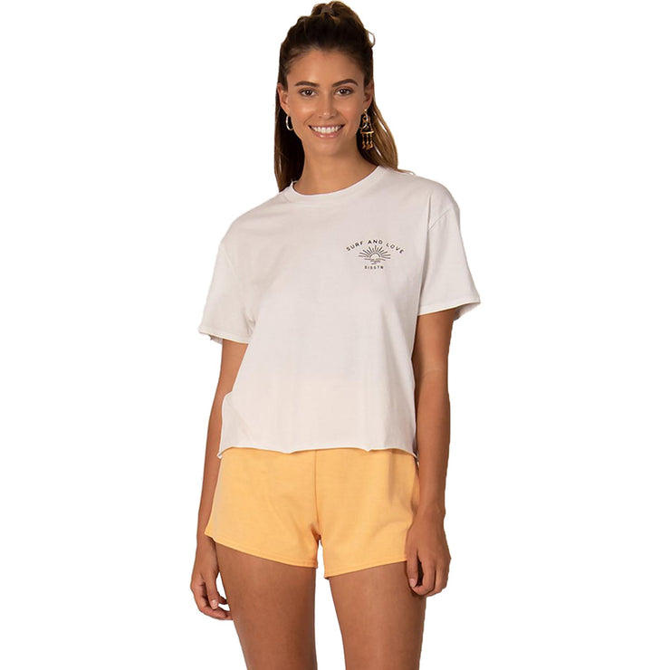Surf Shop, Surf Clothing, Sisstr Evolution, Underwater Crop Top, T-Shirts, White