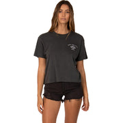 Surf Shop, Surf Clothing, Sisstr Evolution, Underwater Crop Top, Tshirt, Charcoal