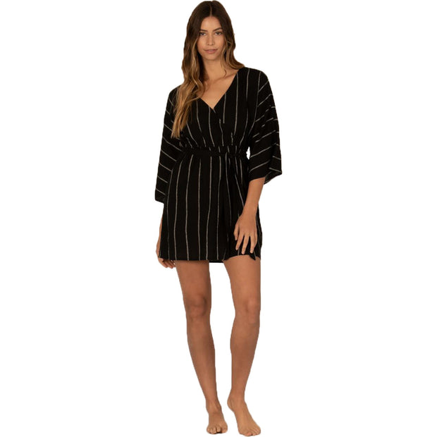 Surf Shop, Surf Clothing, Sisstr Evolution, Wrap Me Up Dress, Dresses, Black