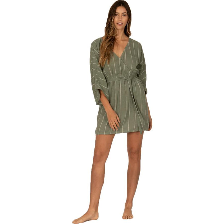 Surf Shop, Surf Clothing, Sisstr Evolution, Wrap Me Up Dress, Dresses, Dusty Green