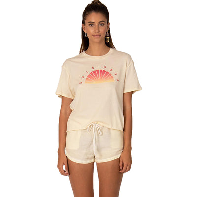 Surf Shop, Surf Clothing, Sol Sisstr Crop Top, Tshirt, Sand