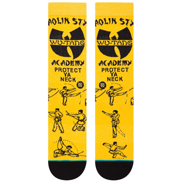 Surf Shop, Surf Clothing, Stance, Anthem Protect Ya Neck, Socks, Yellow