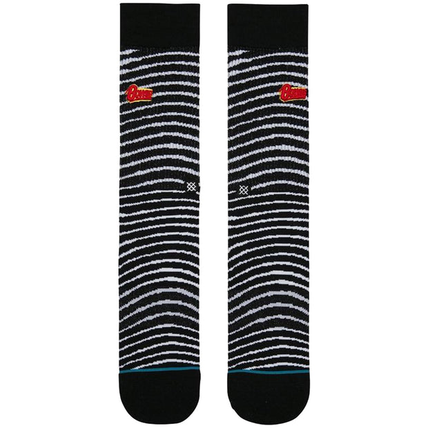 Surf Shop, Surf Clothing, Stance, Foundation Black Star, Socks, Black/White