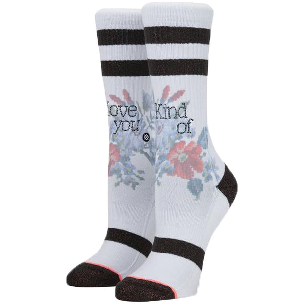 Surf Shop, Surf Clothing, Stance, Maybe Baby, Socks, White