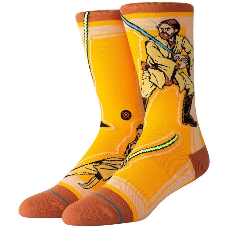 Surf Shop, Surf Clothing, Stance, SW Jedi, Socks, Yellow