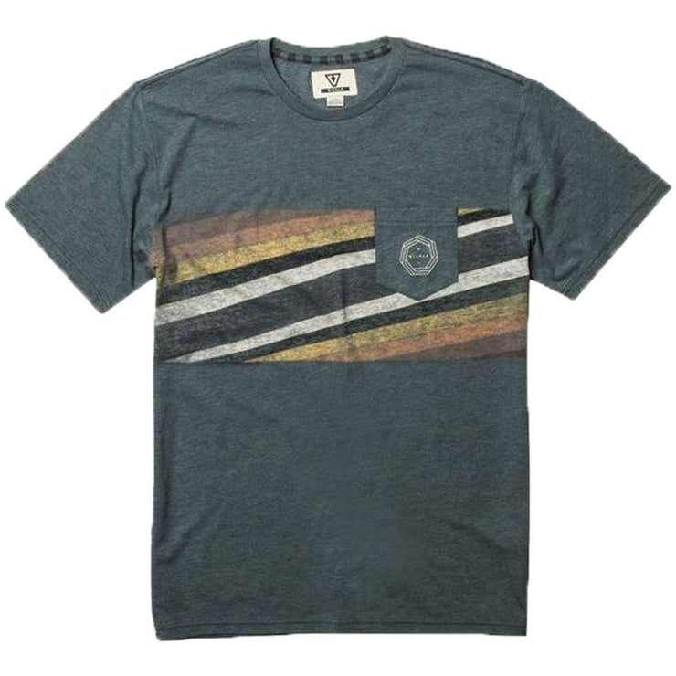 Surf Shop, Surf Clothing, Vissla, Beach Rays T Shirt, Tshirts, Slate Heather