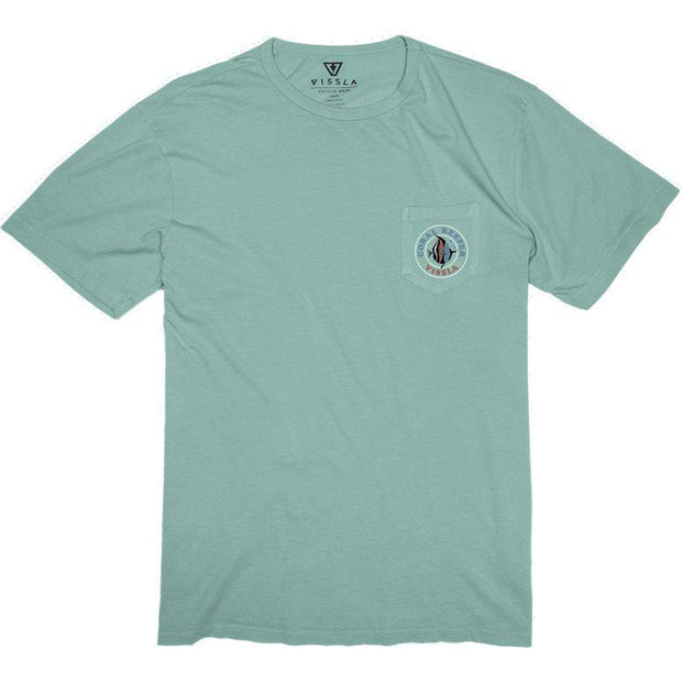 Surf Shop, Surf Clothing, Vissla, Coral Reefer, Tshirt, Jade
