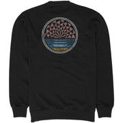 Surf Shop, Surf Clothing, Vissla, Early Visions Crew, Sweatshirt, Black