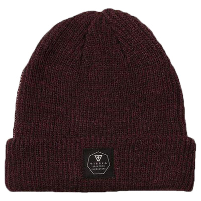 Surf Shop, Surf Clothing, Vissla, Jetty Beanie, Shoes, Burgundy Heather