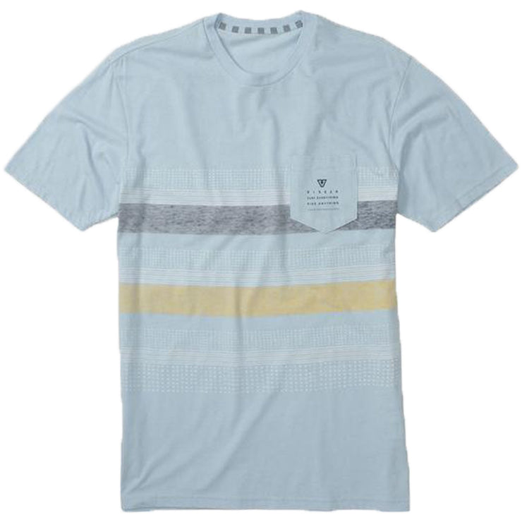 Surf Shop, Surf Clothing, Vissla, Kookabunga T Shirt Ice, Tshirt, Blue Heather