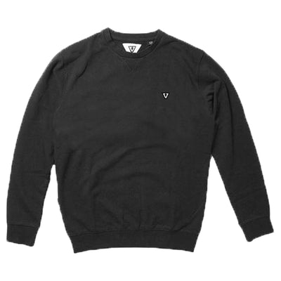 Surf Shop, Surf Clothing, Vissla, MFG Crew, Sweatshirt, Black
