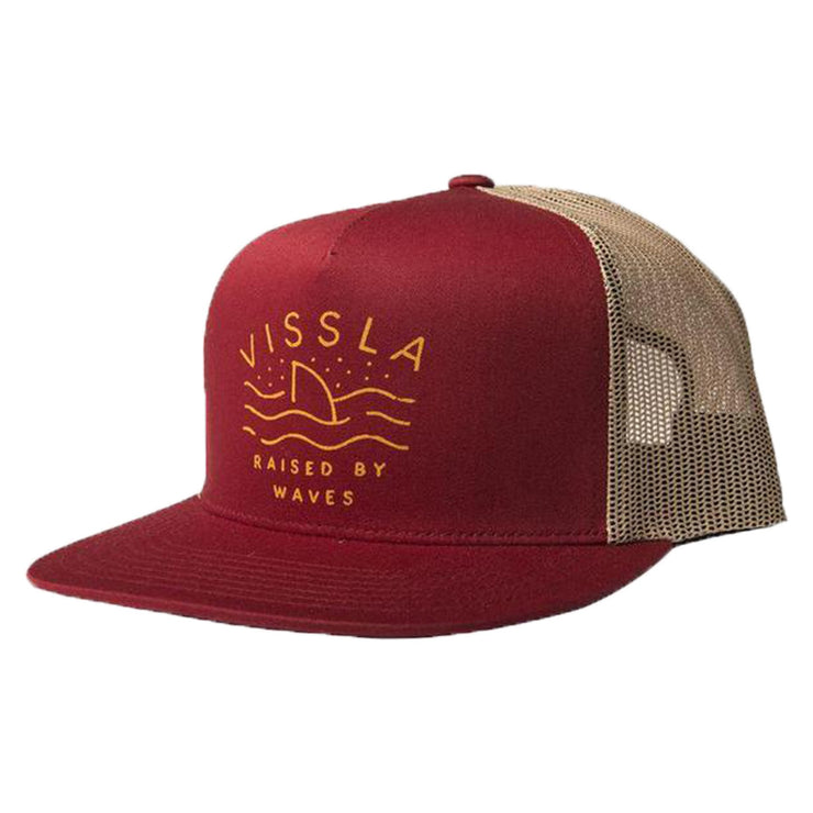 Surf Shop, Surf Clothing, Vissla, Raised By Waves, Cap, Blood