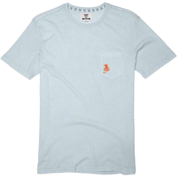 Surf Shop, Surf Clothing, Vissla, Thomas Campbell Waves, Tshirt, Ice Blue