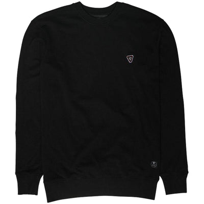Surf Shop, Surf Clothing, Vissla, Tripper Crew, Sweatshirt, Black