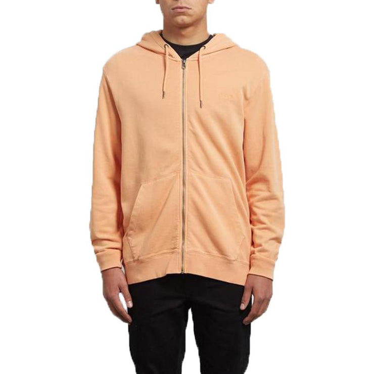 Surf Shop, Surf Clothing, Volcom, Case Zip, Hoodies, Summer Orange