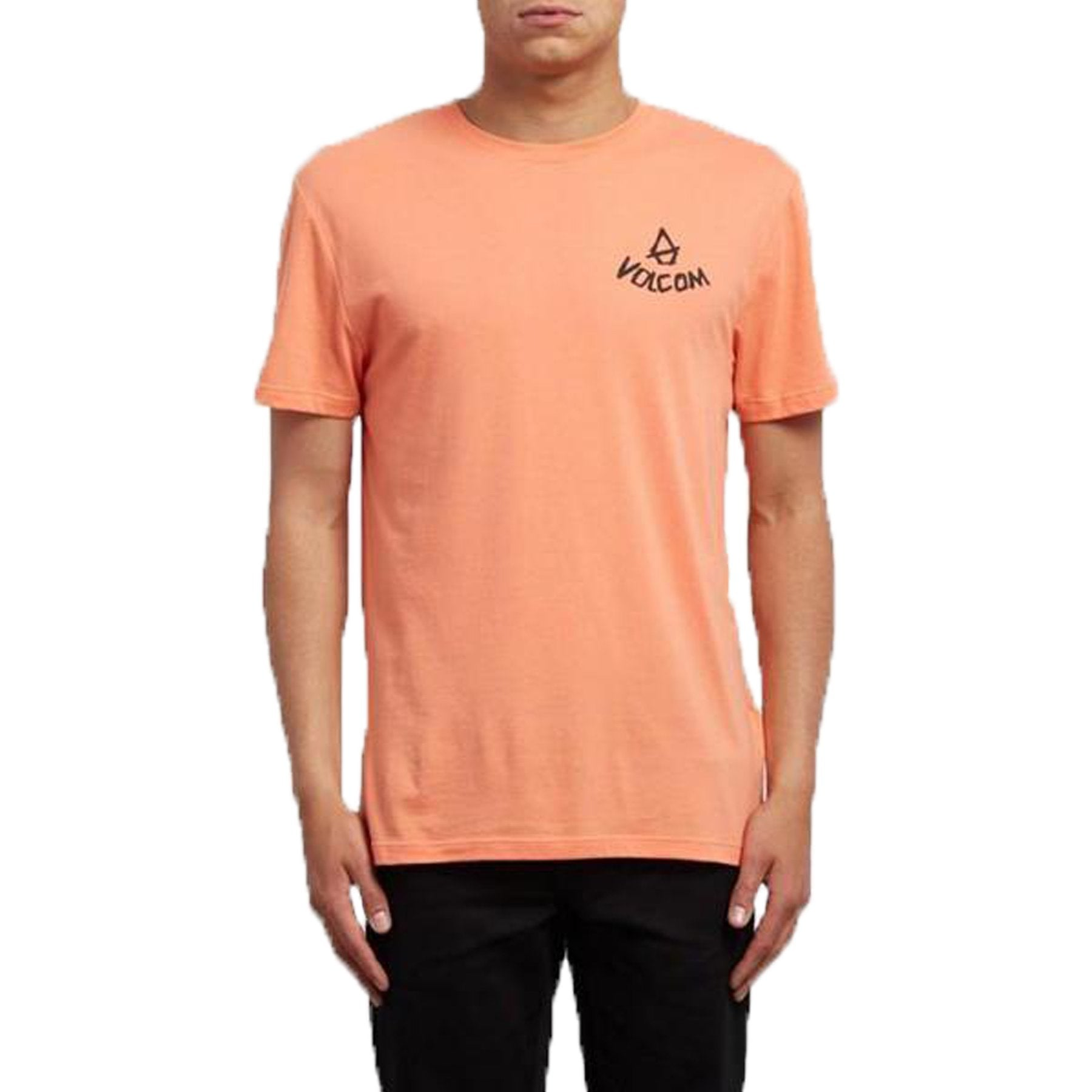 Surf Shop, Surf Clothing, Volcom, Chill DD SS, Tshirt, Salmon