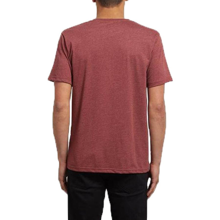 Surf Shop, Surf Clothing, Volcom, Circle Stone Heather Tee, Tshirt, Red