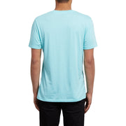 Surf Shop, Surf Clothing, Volcom, Concentric DD SS, T-Shirt, Pale Aqua