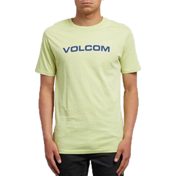 Surf Shop, Surf Clothing, Volcom, Crisp Euro BSC SS, Tshirt, Green