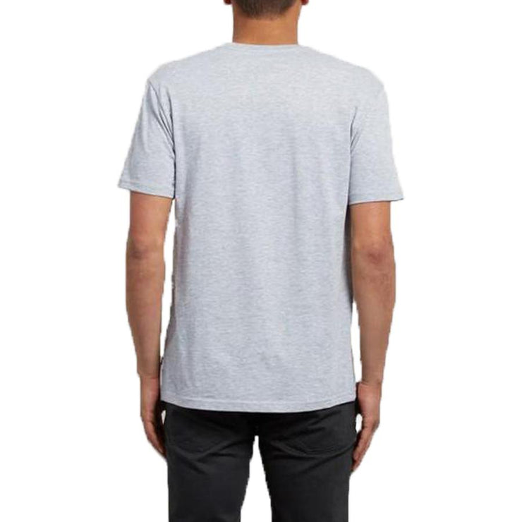 Surf Shop, Surf Clothing, Volcom, Crisp Euro BSC SS, Tshirt, Heather Grey
