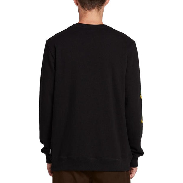 Surf Shop, Surf Clothing, Volcom, Deadly Stone Sweater, Sweatshirt, Black