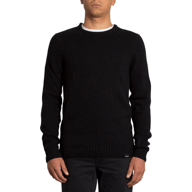 Surf Shop, Surf Clothing, Volcom, Edmonder Sweater, Sweatshirts, Black