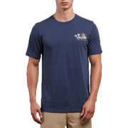 Surf Shop, Surf Clothing, Volcom, El Loro Loco, Tshirt, Navy