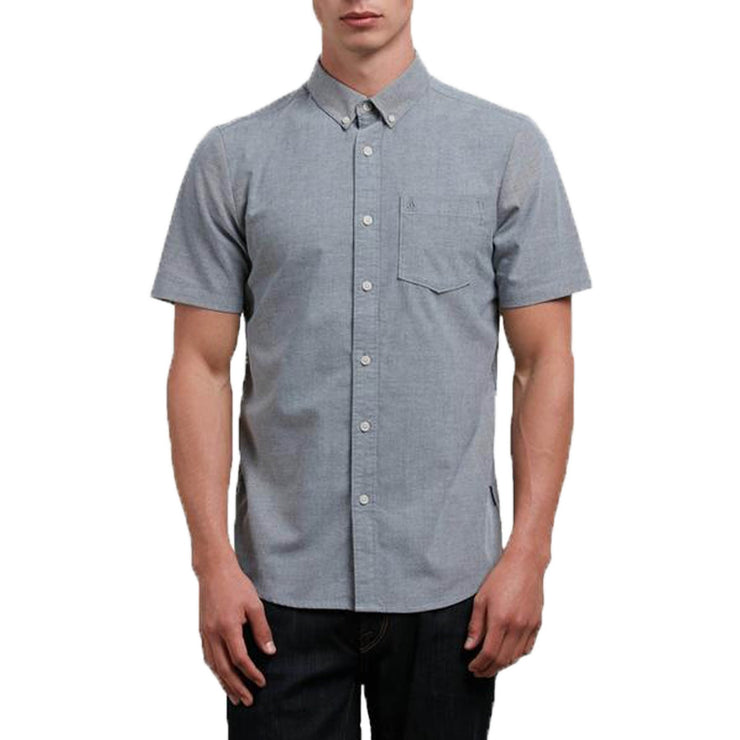 Surf Shop, Surf Clothing, Volcom, Everett Oxford, Shirts, Grey